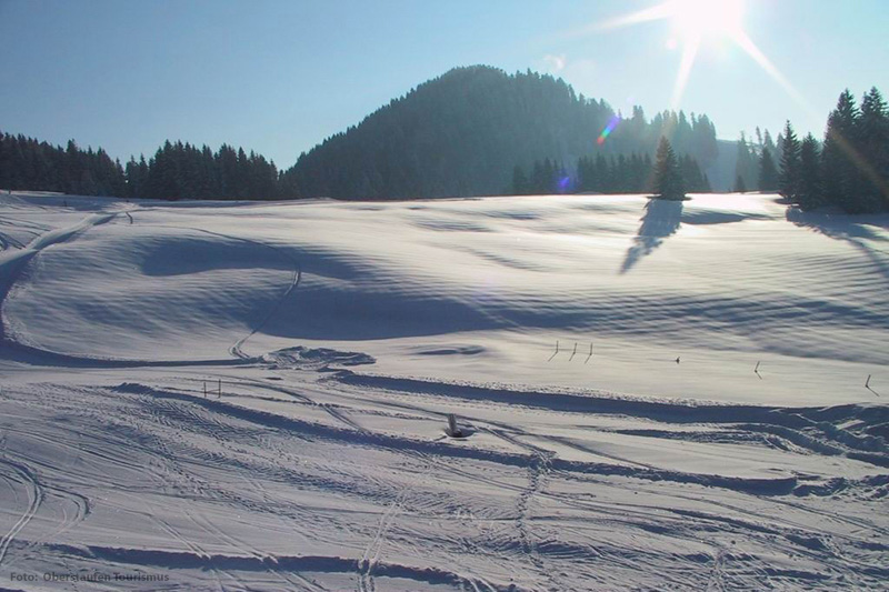 Skigebiet Hündle/Thalkirchdorf in der Region Oberstaufen im Allgäu