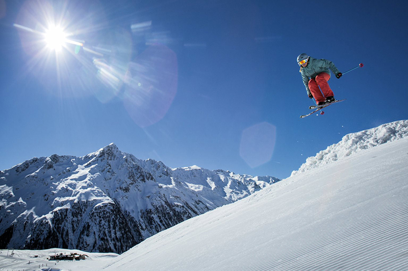 Freestylearea Sölden - Tirol