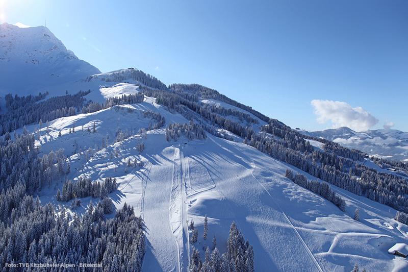 Skigebiet St. Johann - Oberndorf in den Kitzbüheler Alpen in Tirol