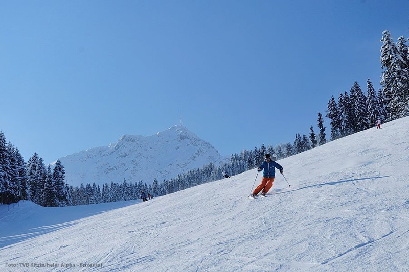 Skigebiet am Kitzbüheler Horn