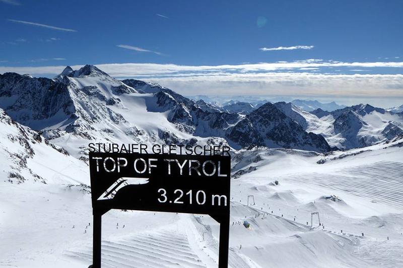 Aussichtsplattform am Stubaier Gletscher - Tirol