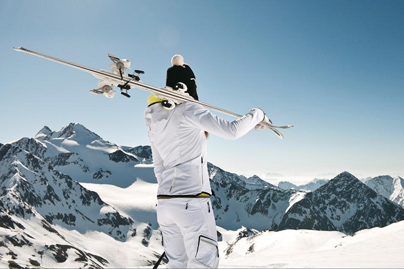 Gletscherfeeling im Skiurlaub in Tirol