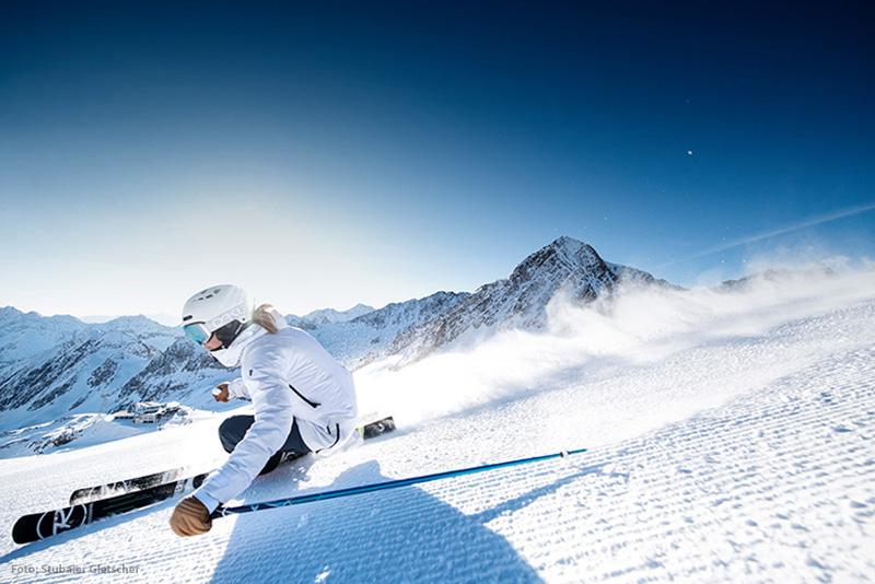 Skigebiet Stubaier Gletscher