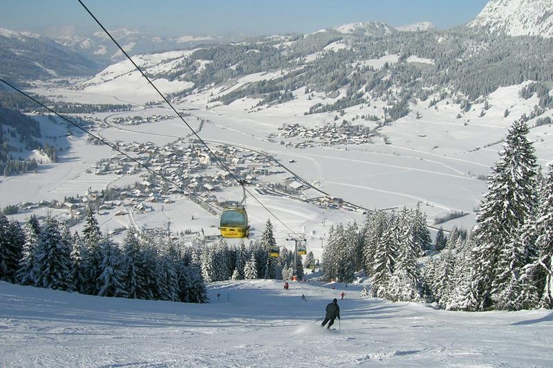 Talabfahrt in Tannheim