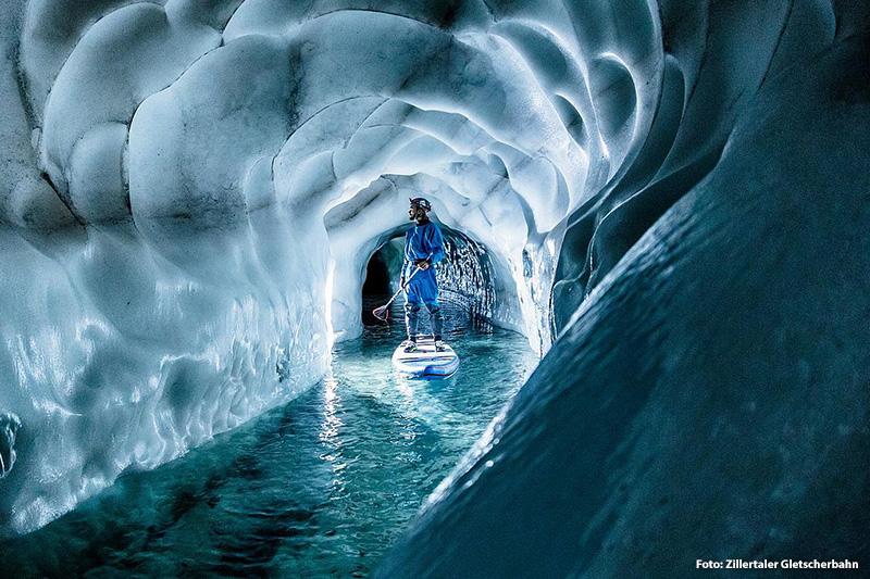 Kajak Session, Stand Up Paddeling oder Eisschwimmen