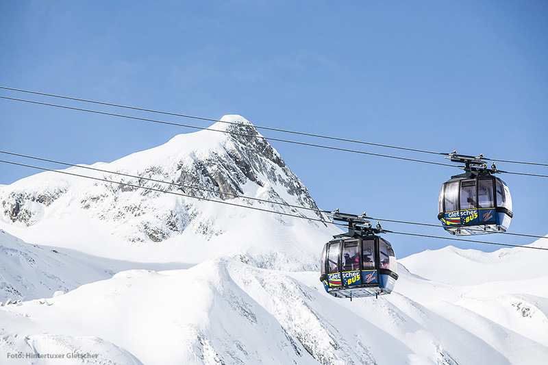 Hintertuxer Gletscher Busgondel