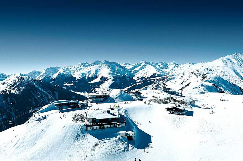 Gletscher Penkenjoch im Skigebiet Hintertuxer Gletscher