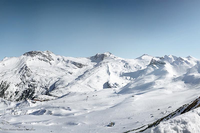 Skifahren im Skigebiet Hintertuxer Gletscher