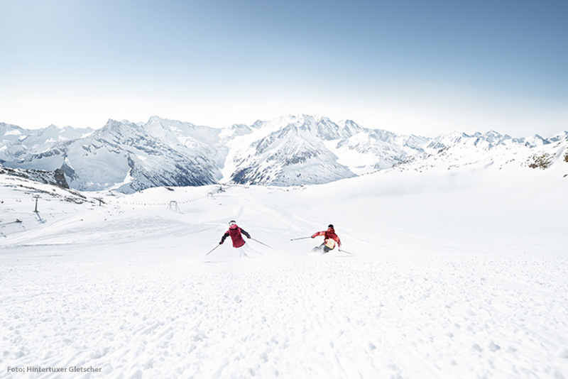 Skigebiet Hintertuxer Gletscher