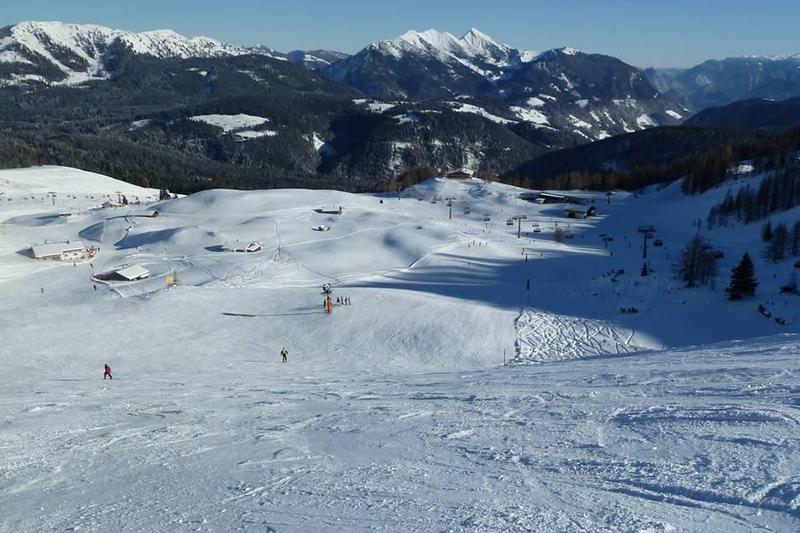 Kammerköranfahrt im Skigebiet Waidring-Steinplatte