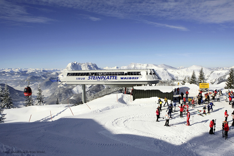 Skigebiet Winklmoosalm-Steinplatte