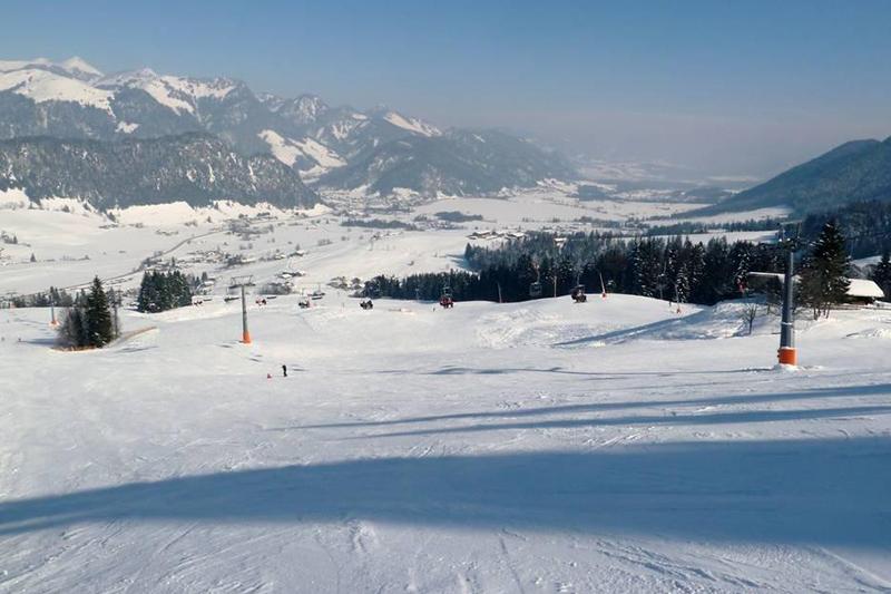 Perfekte Pistenverkältnisse im Skigebiet Walchsee - Durchholzen - Zahmer Kaiser