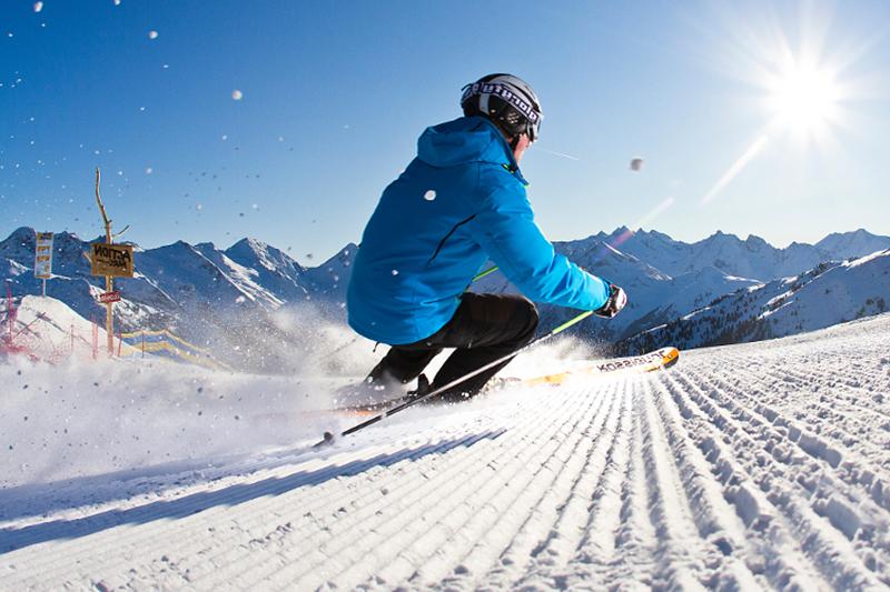 Wintersport mit perfekten Pistenverhältnissen