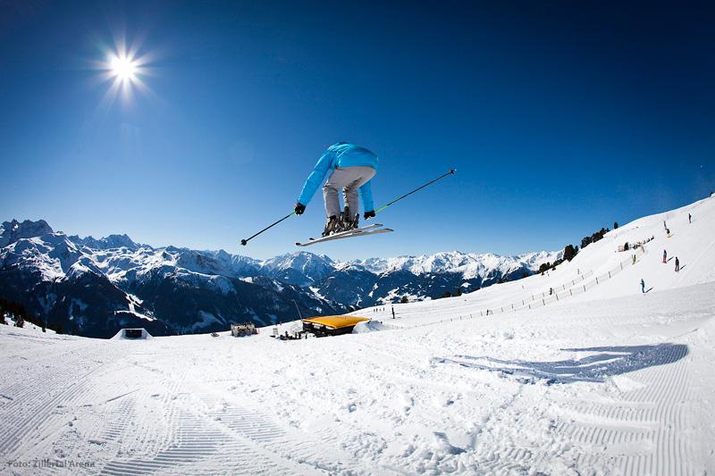 Actionpark in der Tiroler Zillertal Arena