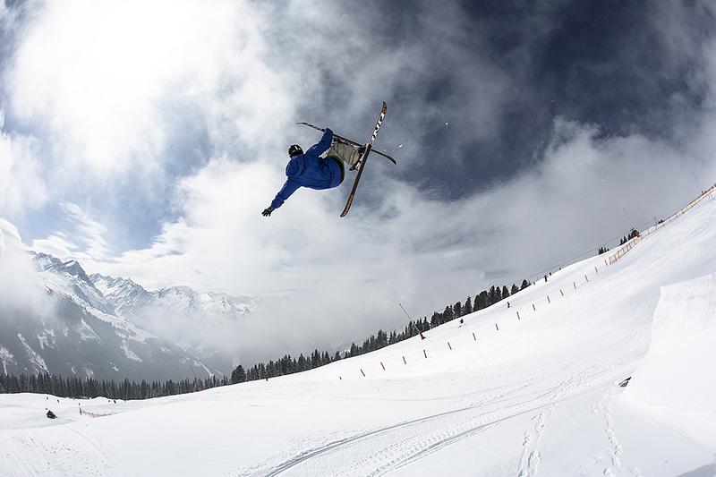 Freeride in der Zillertalarena in Tirol