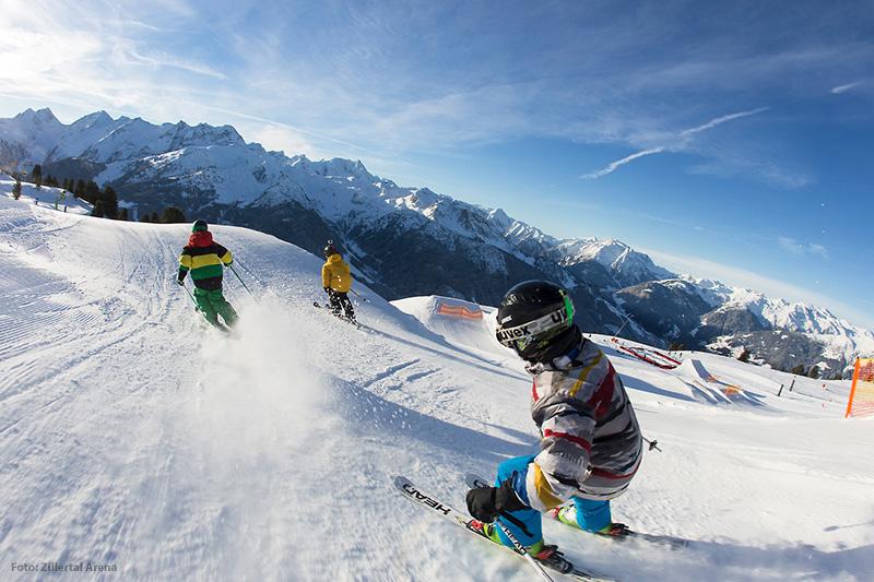 Kinderfreundliches Familienskigebiet Zillertal Arena