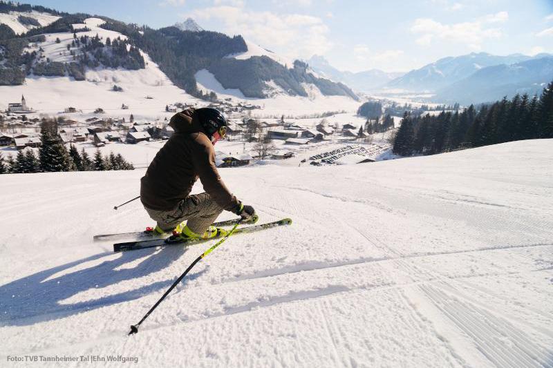 Skifahren im Skigebiet Zöblen-Schattwald