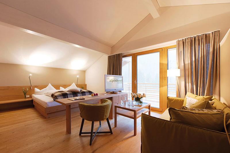 Juniorsuite im Alpenhotel Montafon