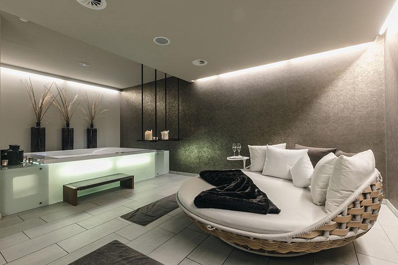 Private-Spa im Alpenhotel Montafon