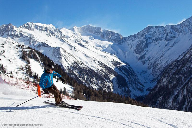 Skifahren am Ankogel im Mölltal
