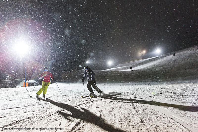 Nachtskifahren am Winterberg Fendels