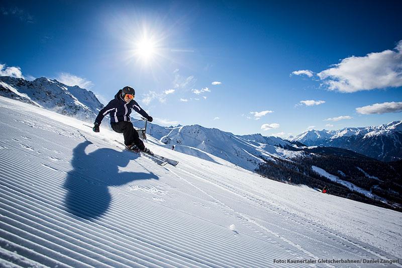 Skifahren Winterberg Fendels und Kaunertaler Gletscher