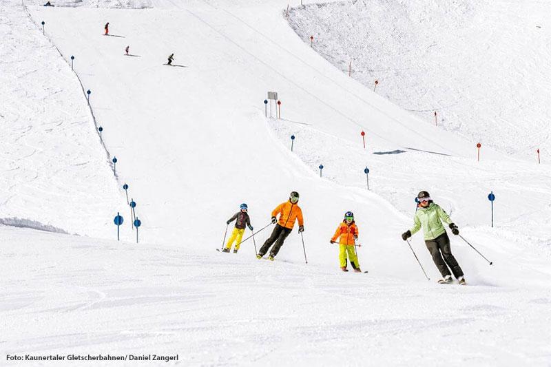 Familien-Skiurlaub in Tirol