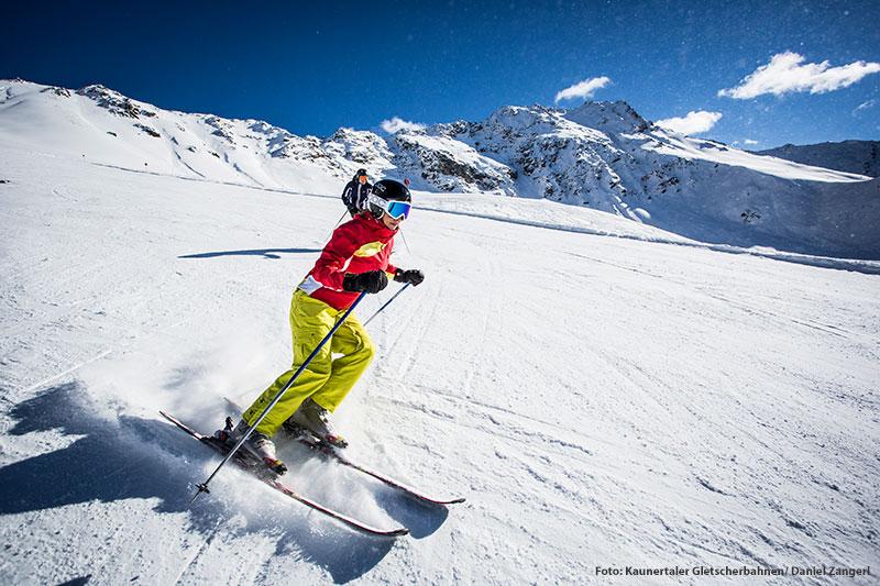 Skiurlaub mit entspannter Atmosphäre am Winterberg Fendels und am Kaunertaler Gletscher