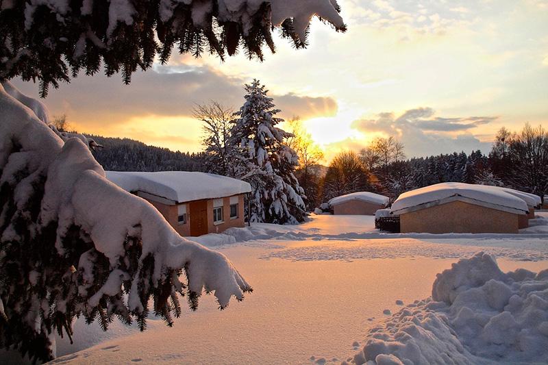 Winterurlaub im Bungalow