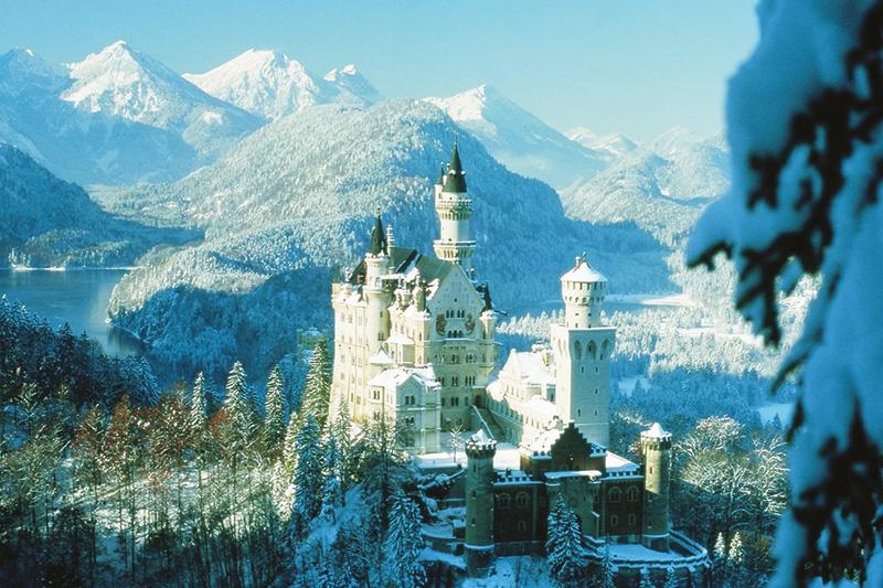 Ausflug zum Schloss Neuschwanstein