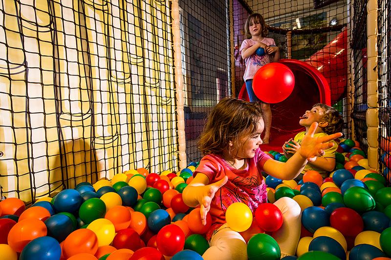 Spieleparadies im Ferienclub Maierhöfen