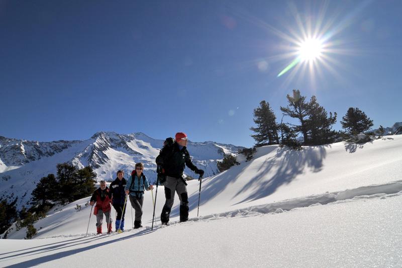 Geführte Schneeschuhwanderungen in der Wildkogel-Arena