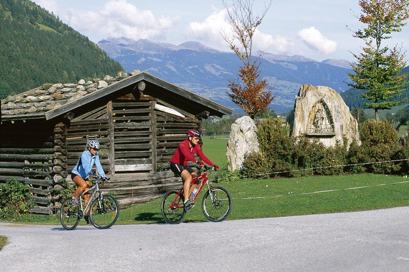 Radeln auf dem Tauernradweg