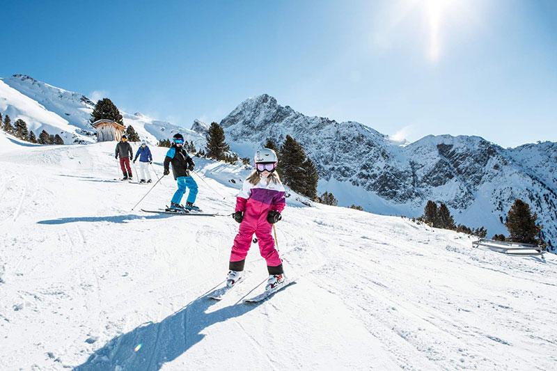 Hochoetz ist eine familienfreundliche Skiregion