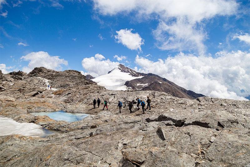 Ötzi Glacier Tour am Schnalstaler Gletscher