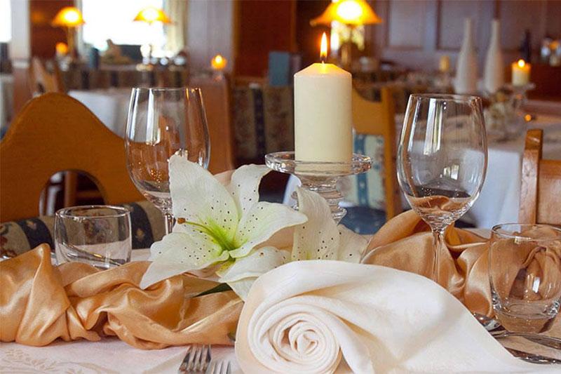 Restaurant im Mountain Lake Hotel Vernagt