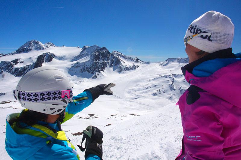 Schnalstaler Gletscher in Südtirol