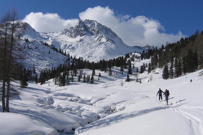 Winterwanderung Lagauntal Schnalstal