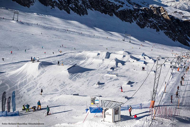 Snowpark auf 2.900 m