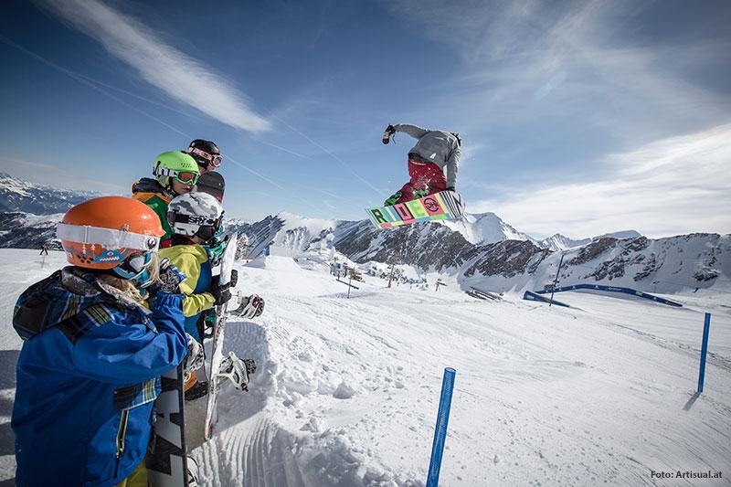 Snowparks für Kids