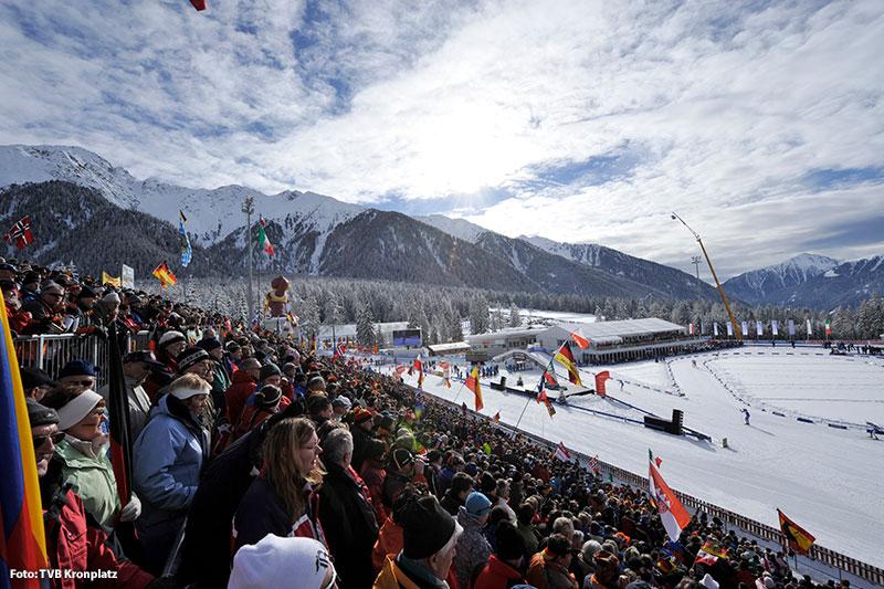 Biathlon im Antholzertal