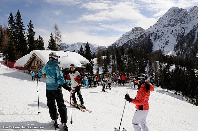 Skihütte am Kronplatz