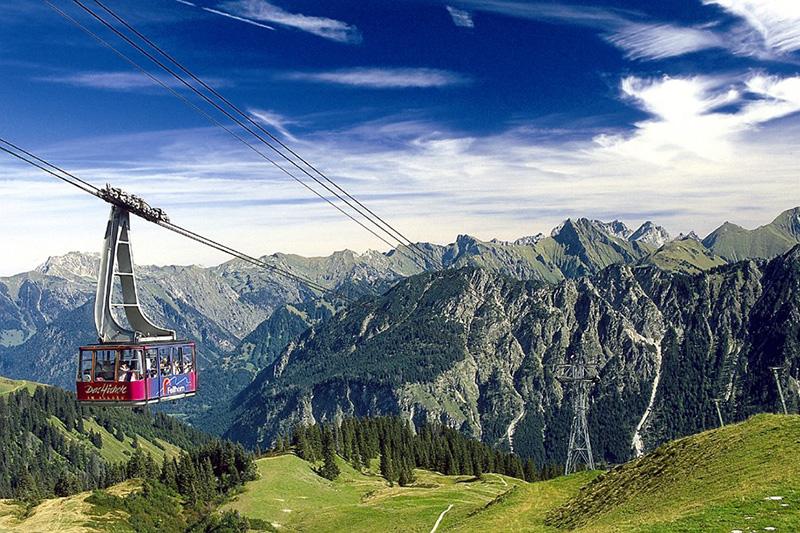 Fellhornbahn in Oberstdorf