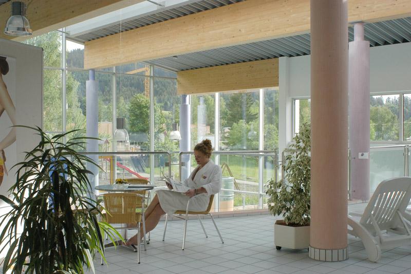Wellnessbereich mit Saunawelt