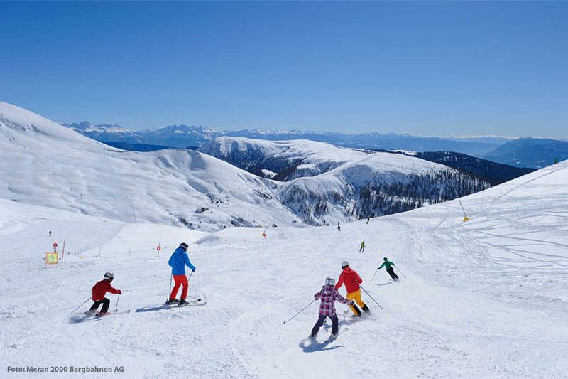 Skifahren in Hafling