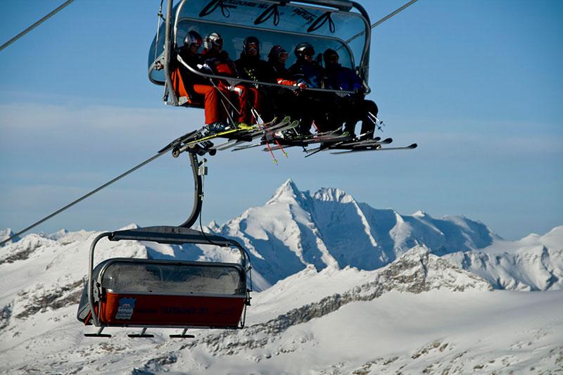 6er Sesselbahn Mölltaler Gletscher Jet