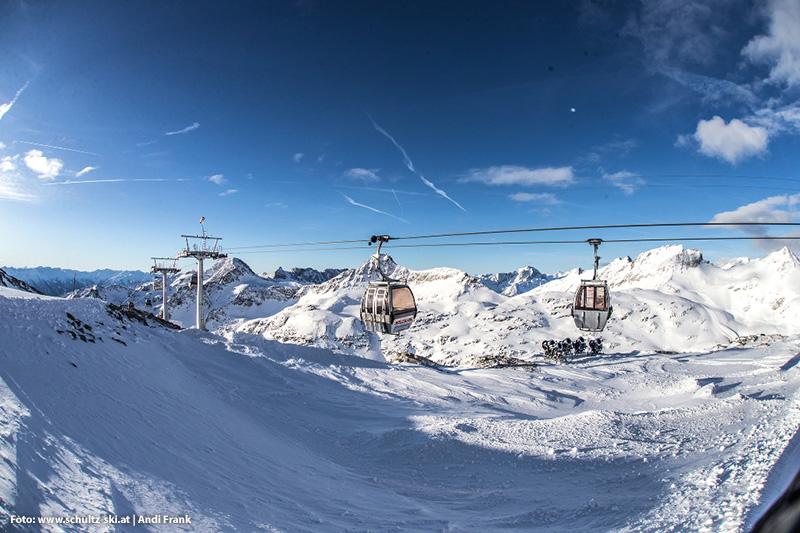 6er Gondelbahn Eissee bis 2.800 Höhenmetern
