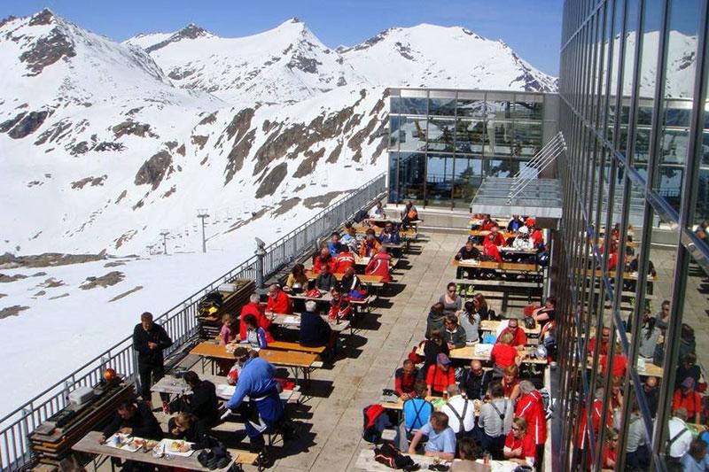 Gletscher-Restaurant Eissee