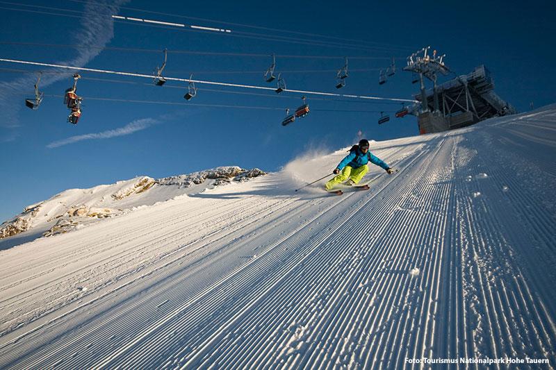 Skiurlaub im Nationalpark Hohe Tauern