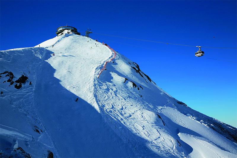 Höchstgelegenes Skigebiet im Berner Oberland